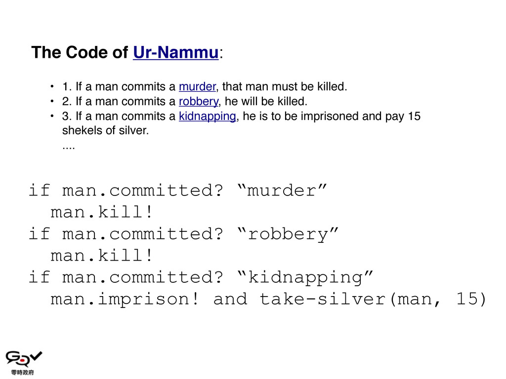 • 1. If a man commits a murder, that man must b...