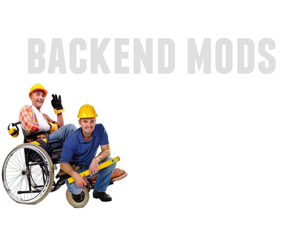 backend mods