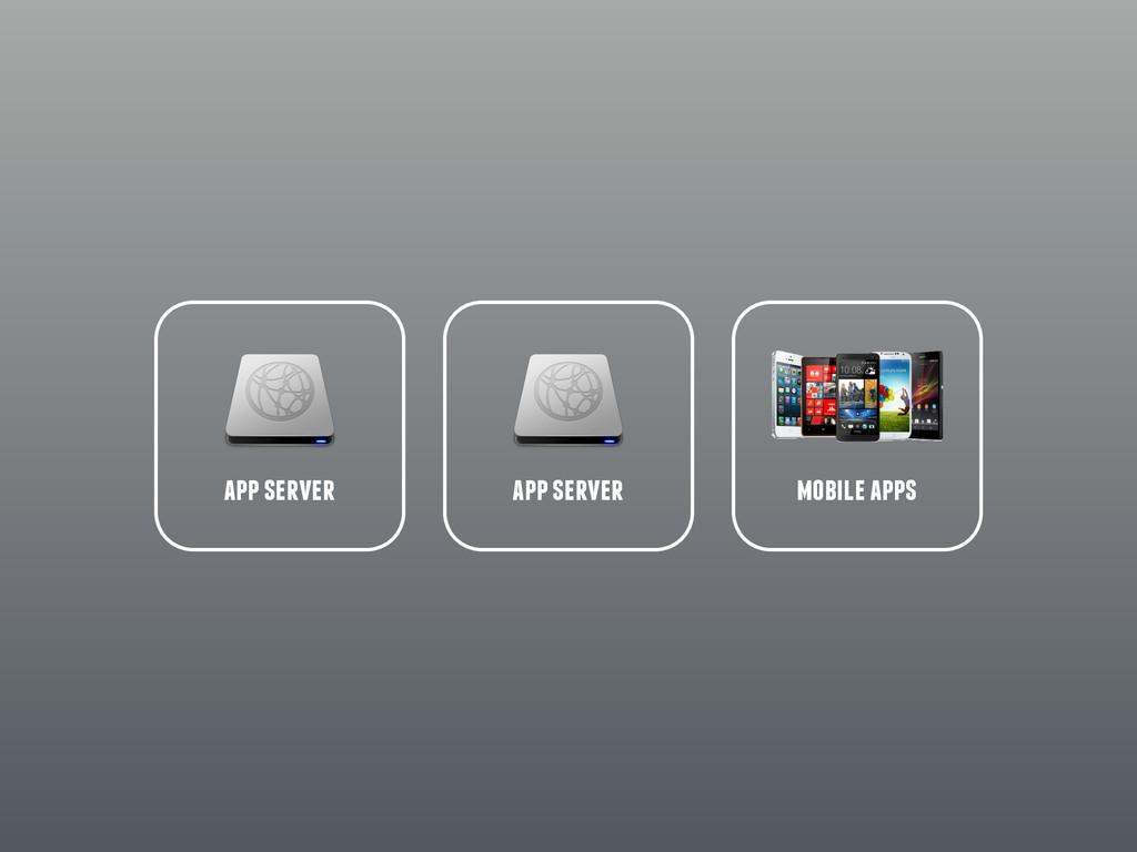 app server app server mobile apps