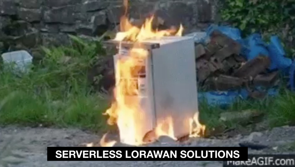 SERVERLESS LORAWAN SOLUTIONS