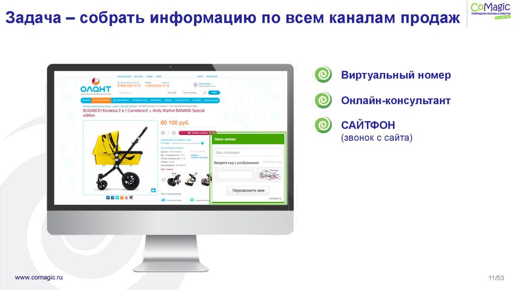 11/53 Виртуальный номер Онлайн-консультант САЙТ...
