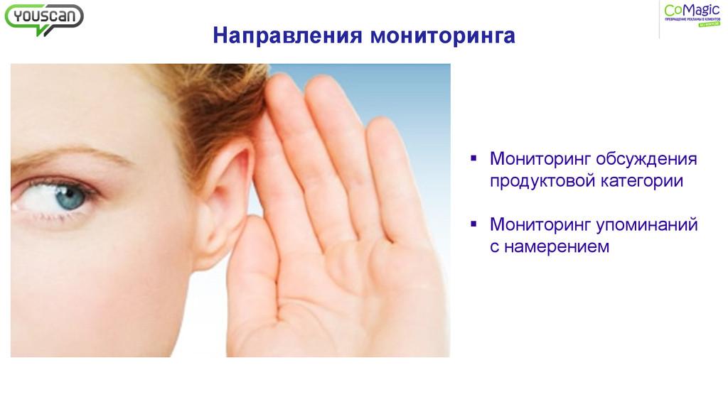 Направления мониторинга § Мониторинг обсужден...