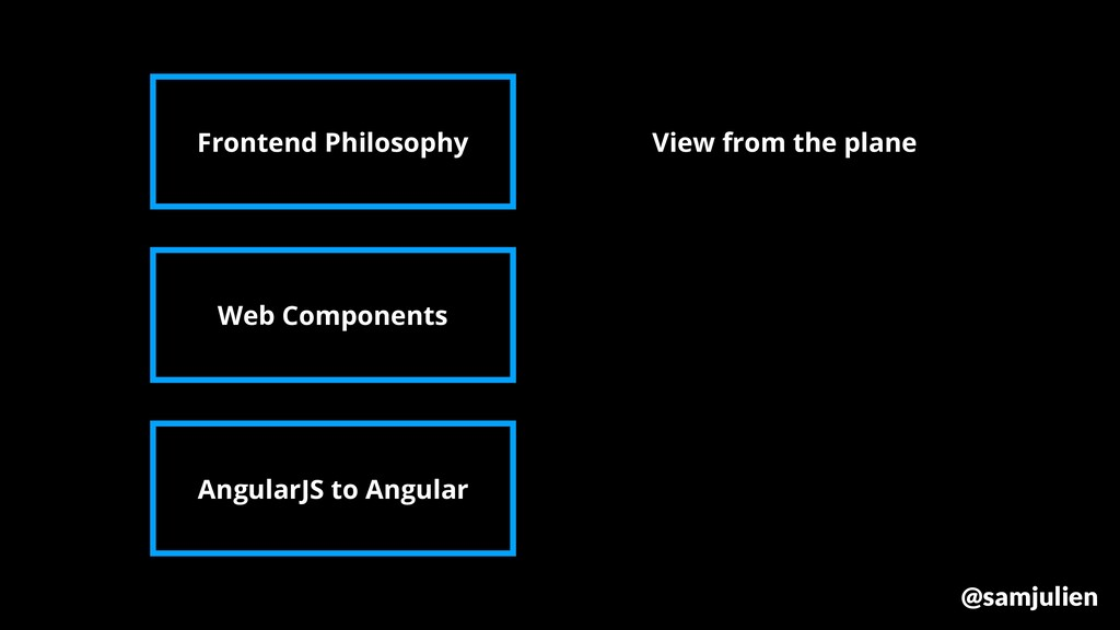 Frontend Philosophy Web Components AngularJS to...