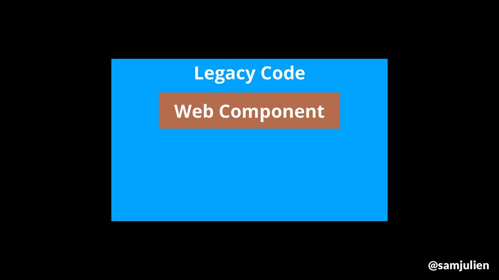 Legacy Code Web Component @samjulien