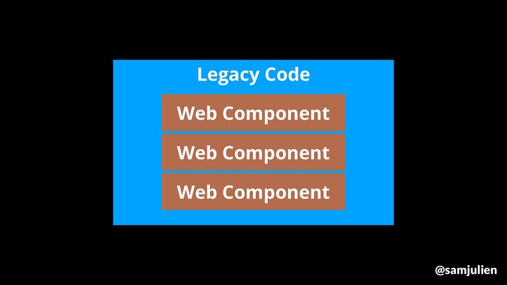 Legacy Code Web Component Web Component Web Com...