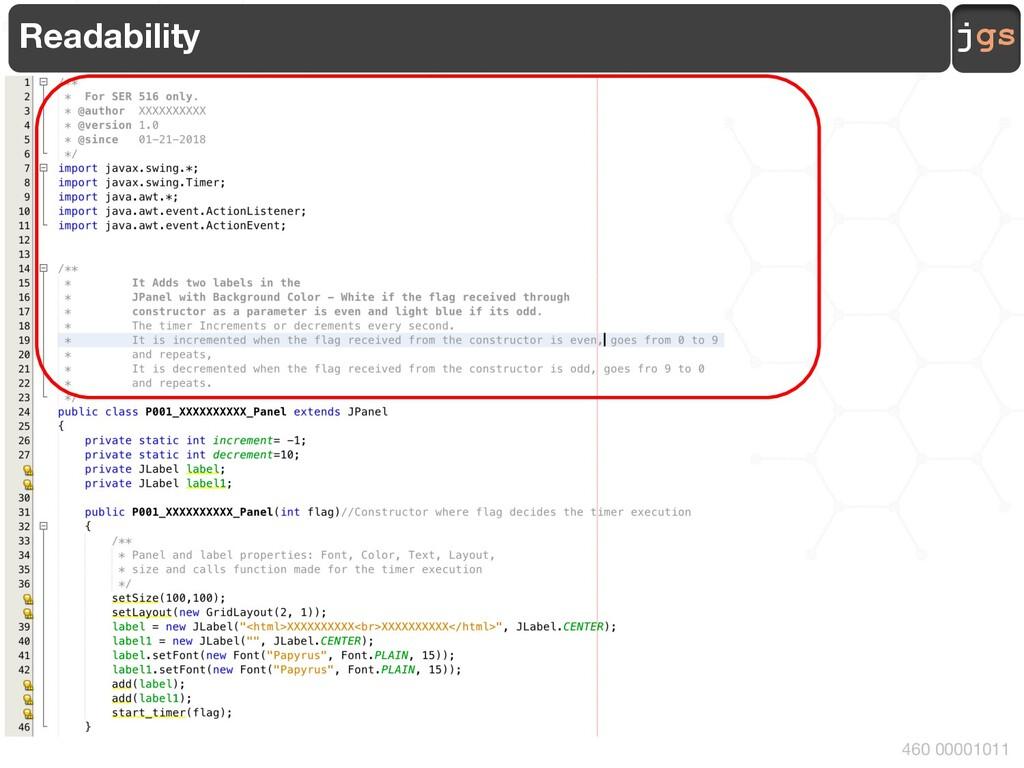 jgs 460 00001011 Readability