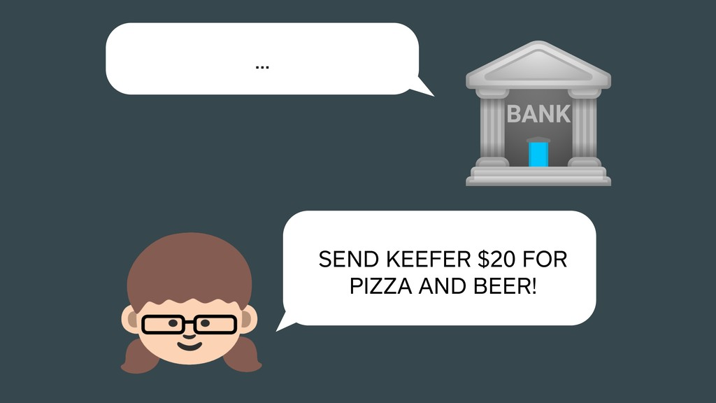 … SEND KEEFER $20 FOR