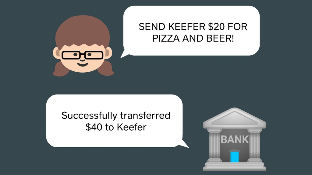 SEND KEEFER $20 FOR