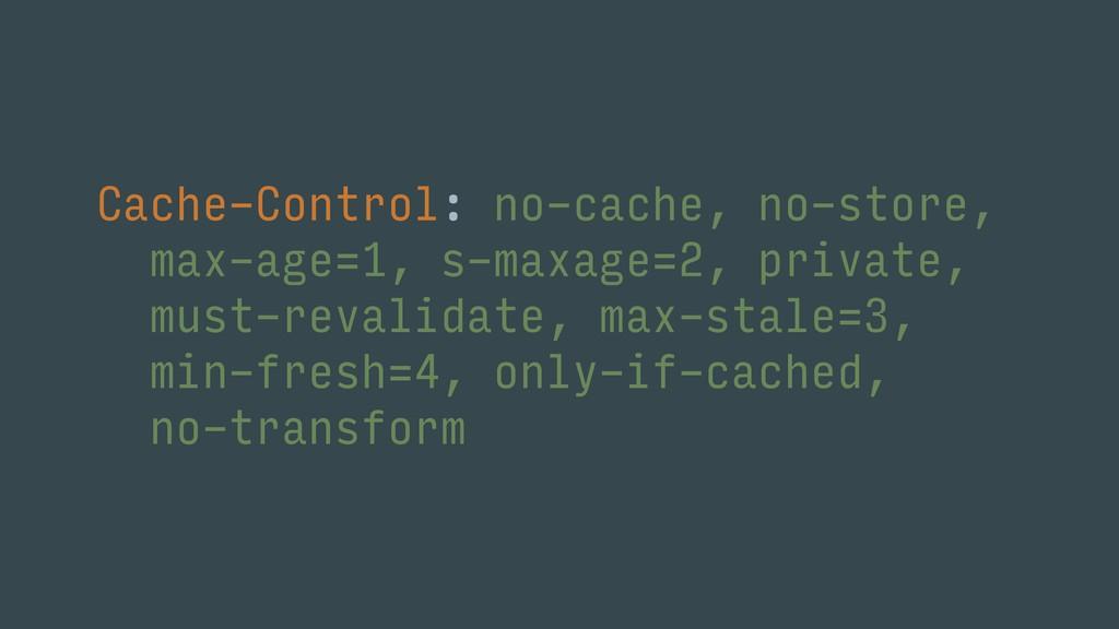 Cache-Control: no-cache, no-store, max-age=1, s...