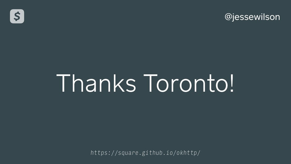 @jessewilson Thanks Toronto! https://square.git...