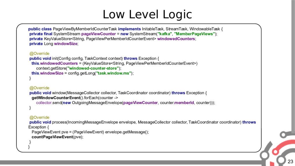 23 Low Level Logic public class PageViewByMembe...