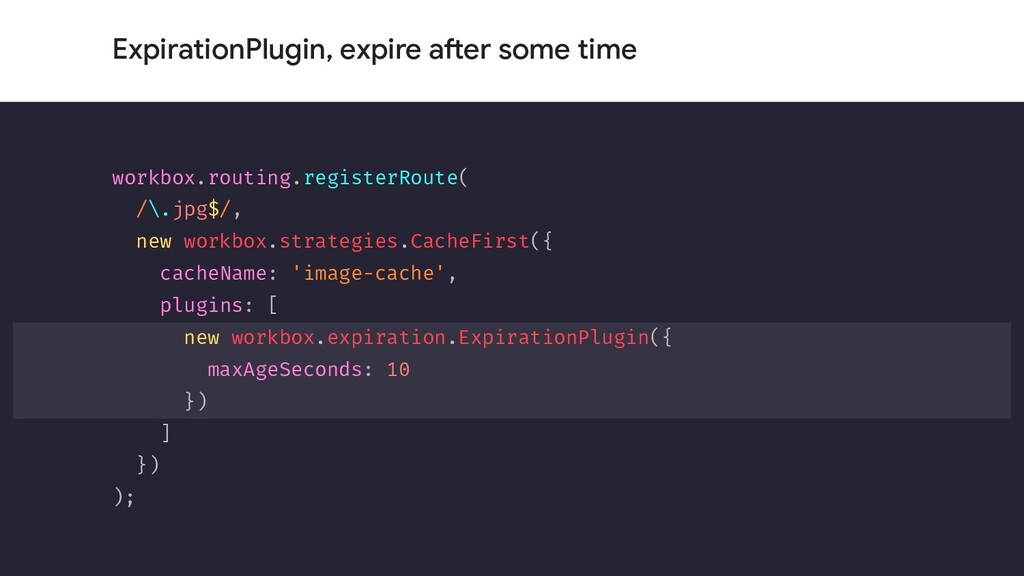 ExpirationPlugin, expire after some time workbo...