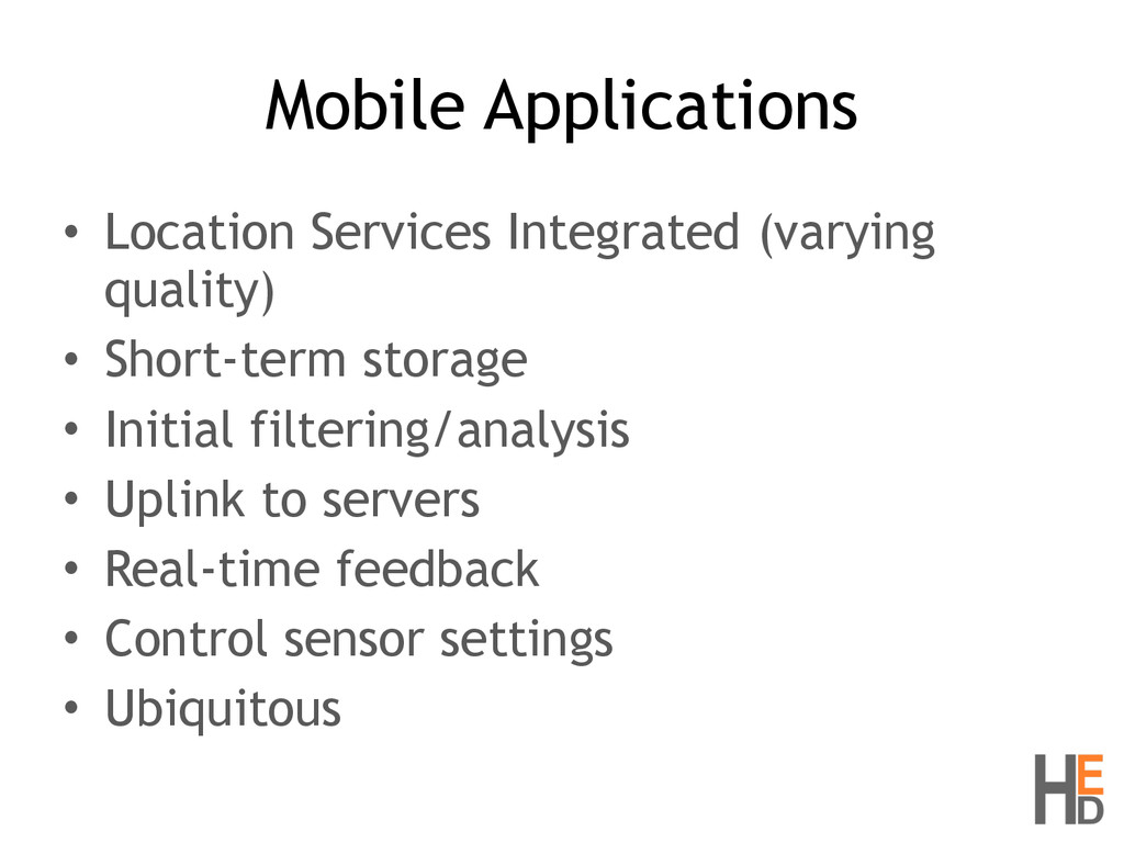 Mobile Applications • Location Services Integra...