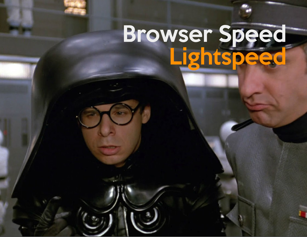Browser Speed Lightspeed