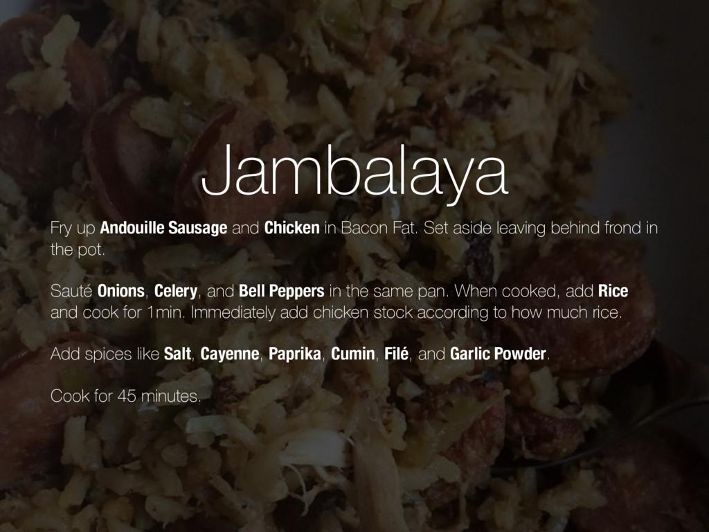 Jambalaya Fry up Andouille Sausage and Chicken ...