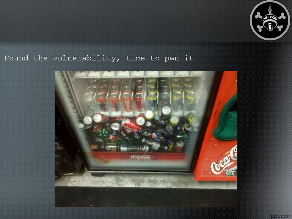 Found the vulnerability, time to pwn it