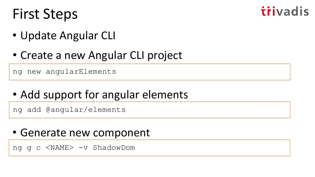 • Create a new Angular CLI project ng new angul...