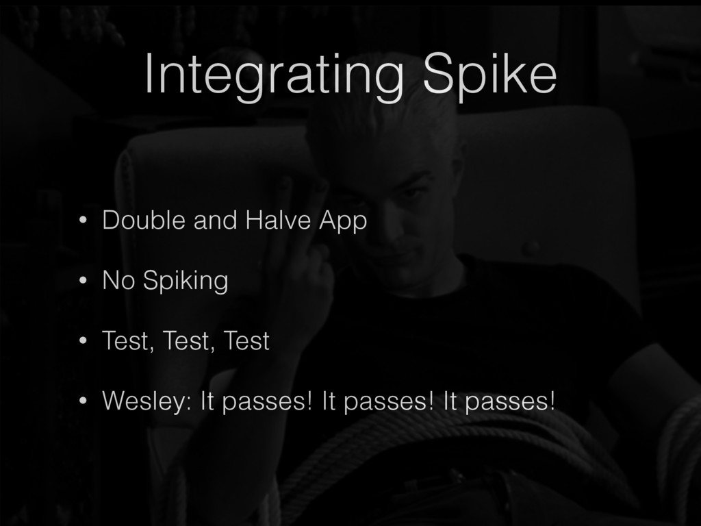 Integrating Spike • Double and Halve App • No S...