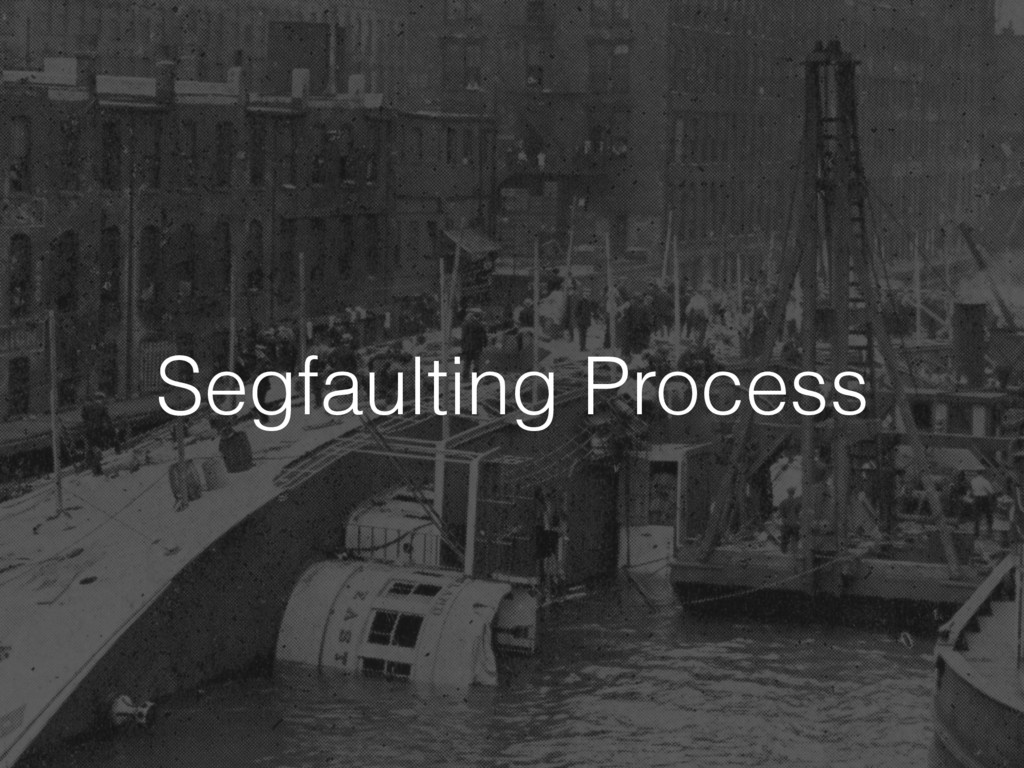 Segfaulting Process
