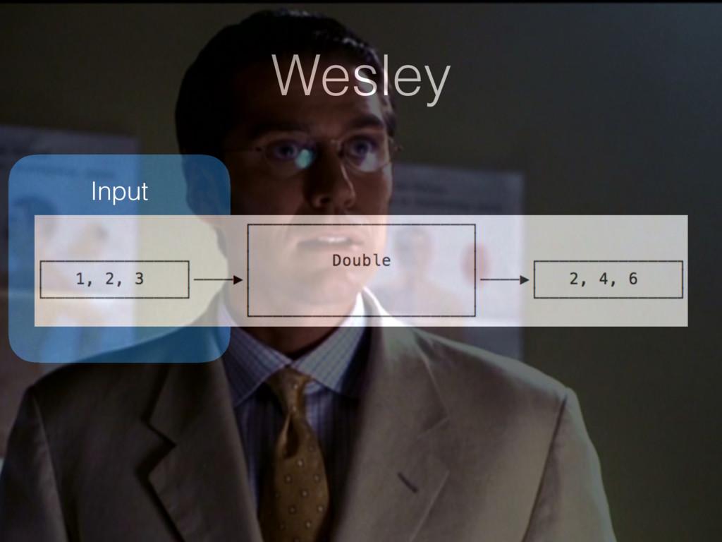 Wesley Input