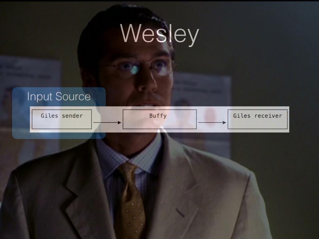 Input Source Wesley
