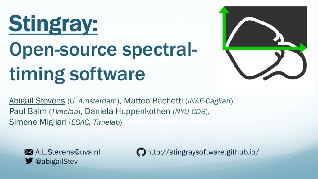 Stingray: Open-source spectral- timing software...