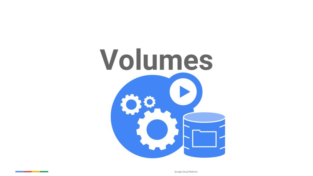 Google Cloud Platform Volumes