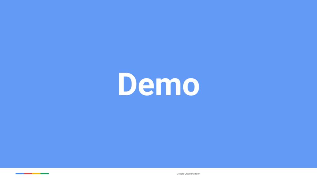 Google Cloud Platform Demo