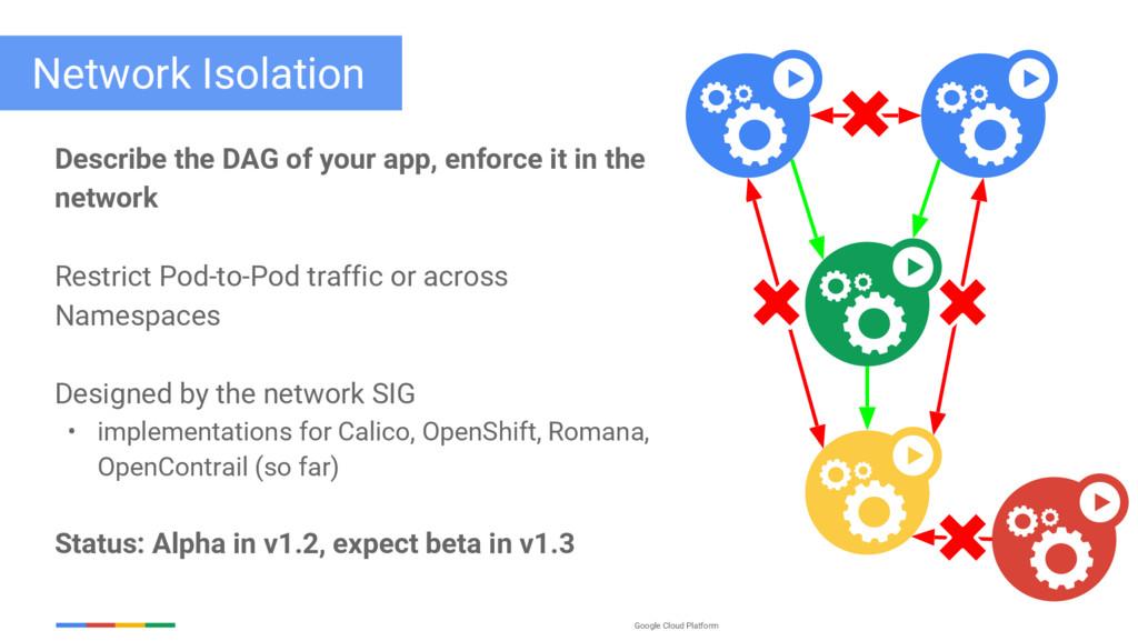 Google Cloud Platform Network Isolation Describ...