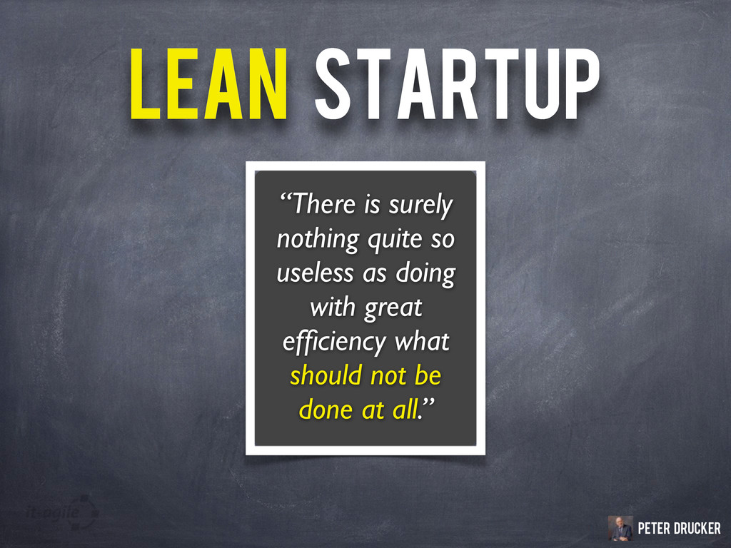 """LEAN STARTUP LEAN STARTUP """"There is surely noth..."""