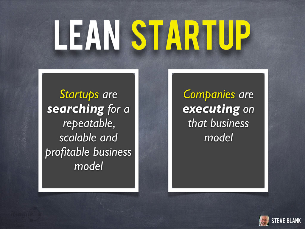 Companies are executing on that business model ...