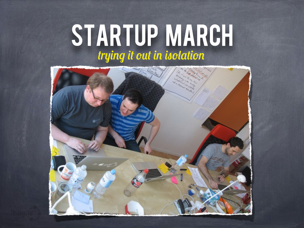 STARTUP MARCH r