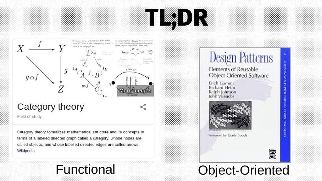 Object-Oriented Functional TL;DR