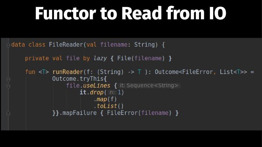 Functor to Read from IO