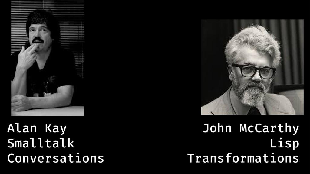 Alan Kay John McCarthy Smalltalk Lisp Conversat...