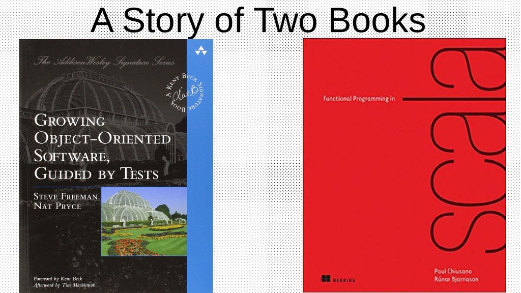 A Story of Two Books