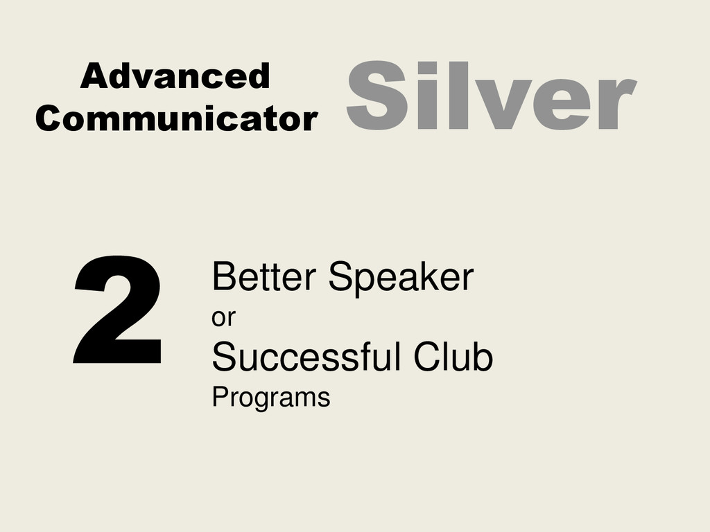 Advanced Communicator Silver 2 Better Speaker o...