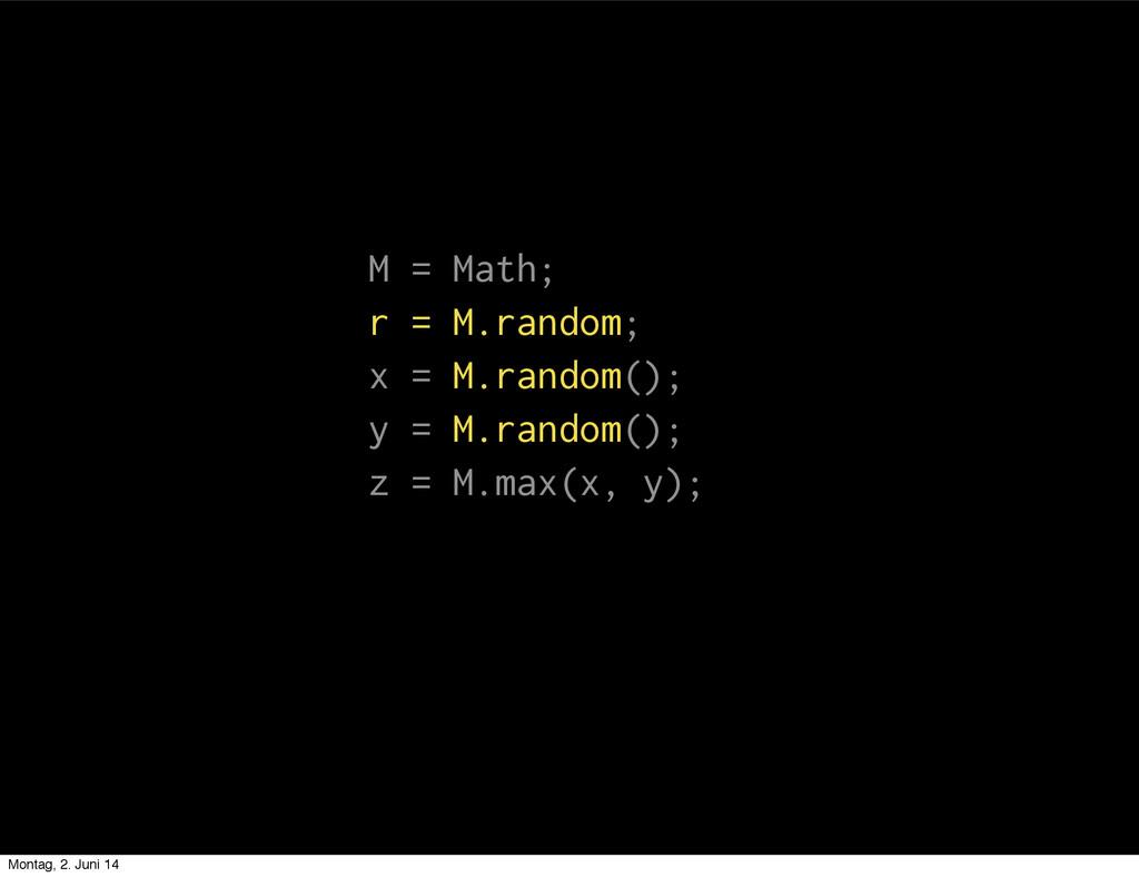 M = Math; r = M.random; x = M.random(); y = M.r...