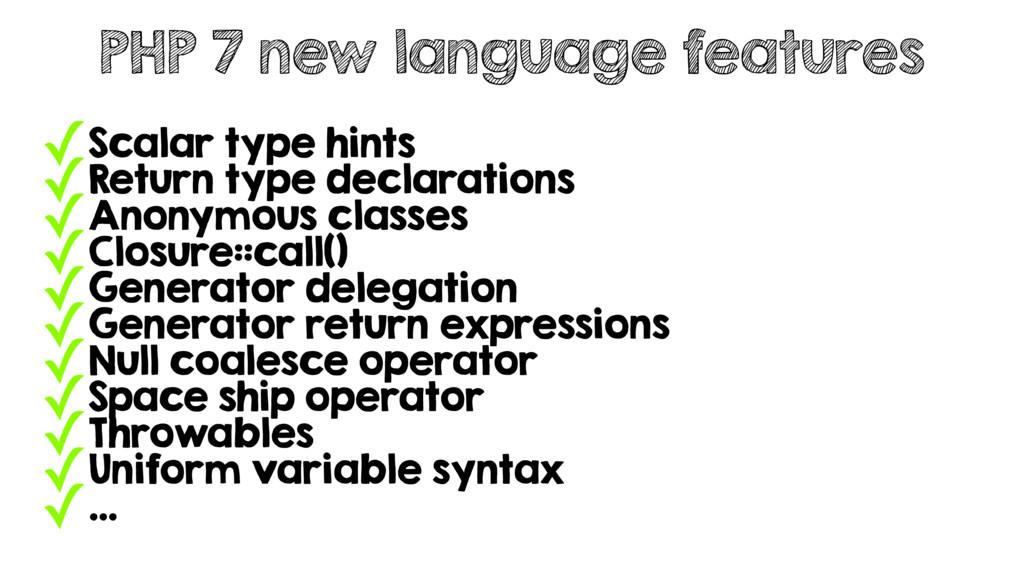 ✓Scalar type hints ✓Return type declarations ✓A...
