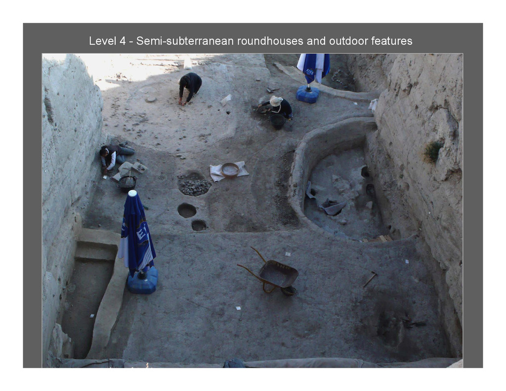 Level 4 - Semi-subterranean roundhouses and out...