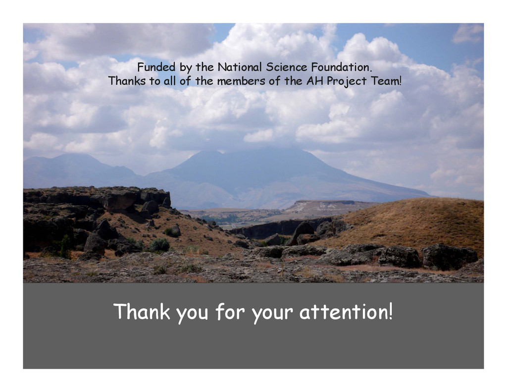 Thank you for your attention! Funded by the Nat...