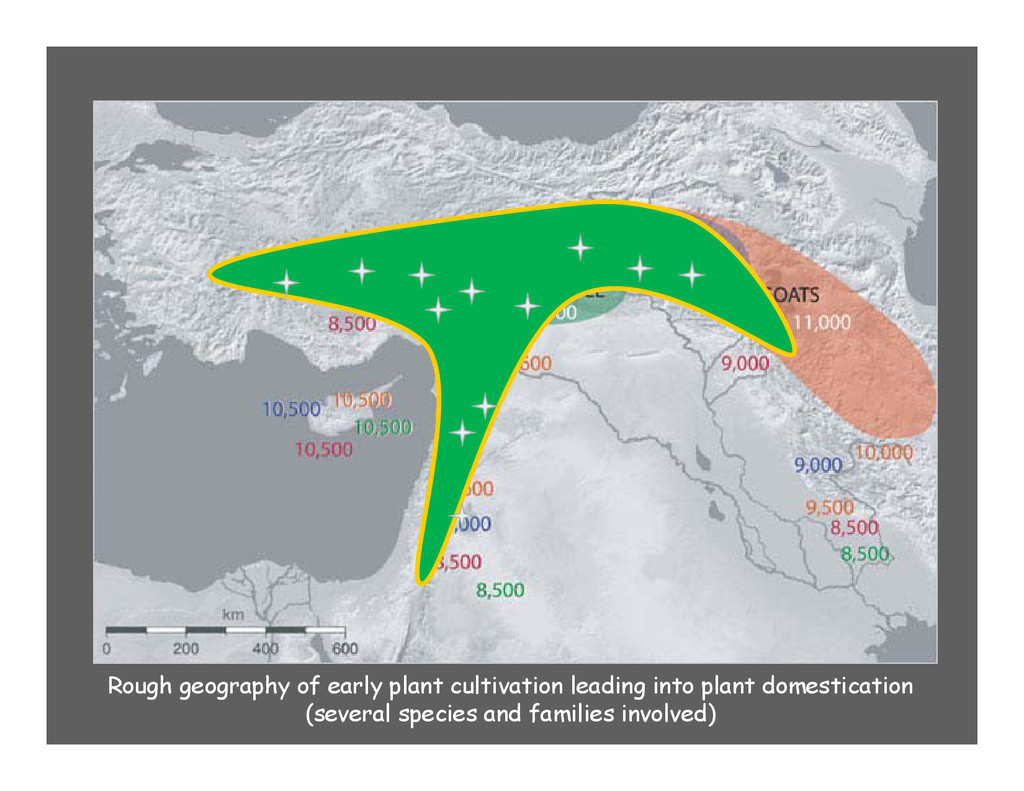 Rough geography of early plant cultivation lead...