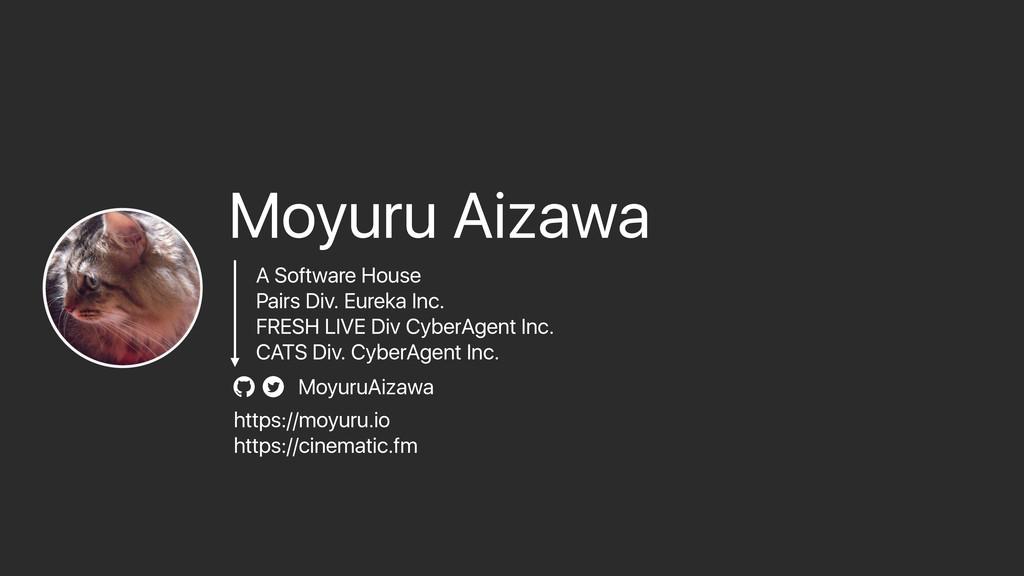 MoyuruAizawa Moyuru Aizawa A Software House Pai...