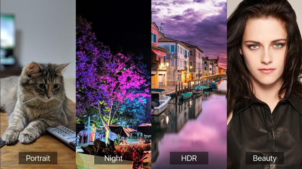 Portrait Night HDR Beauty