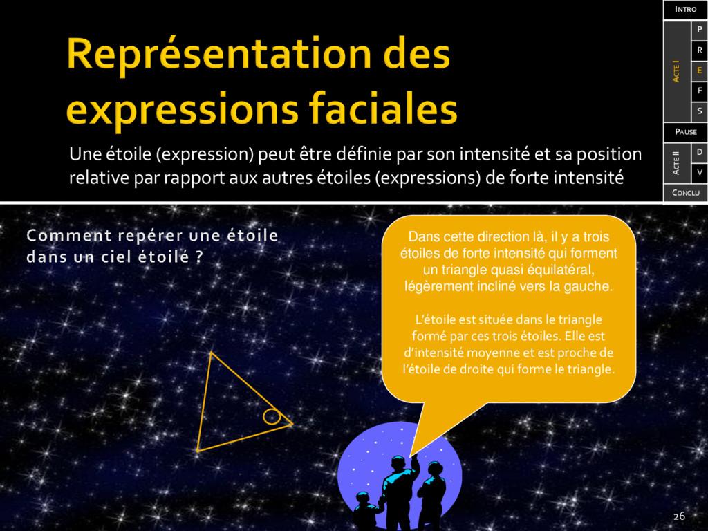 Une étoile (expression) peut être définie par s...