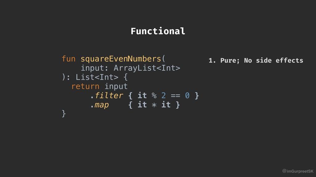 @imGurpreetSK fun squareEvenNumbers( input: Arr...