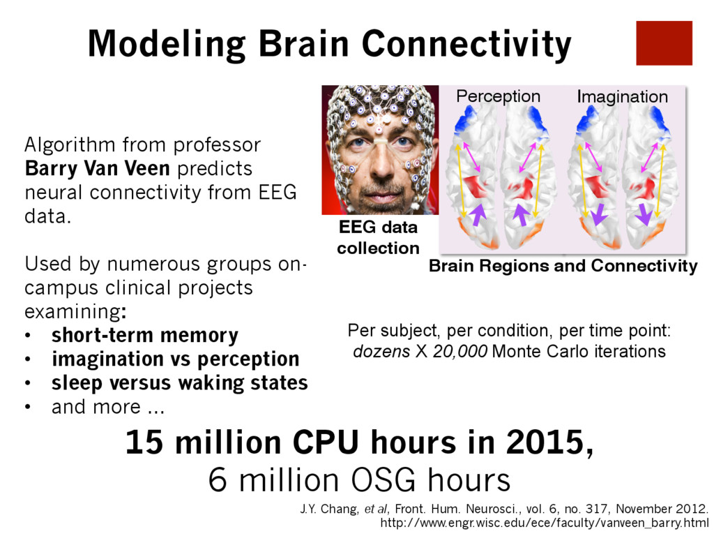 Modeling Brain Connectivity Brain Regions and C...