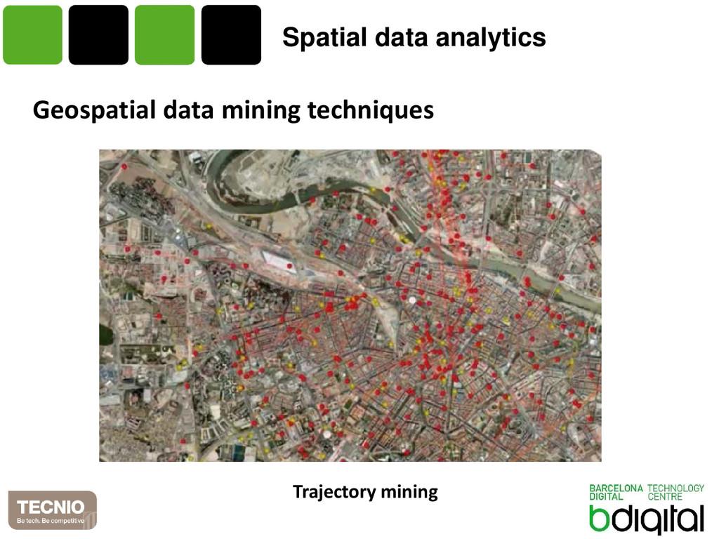 Spatial data analytics Geospatial data mining t...