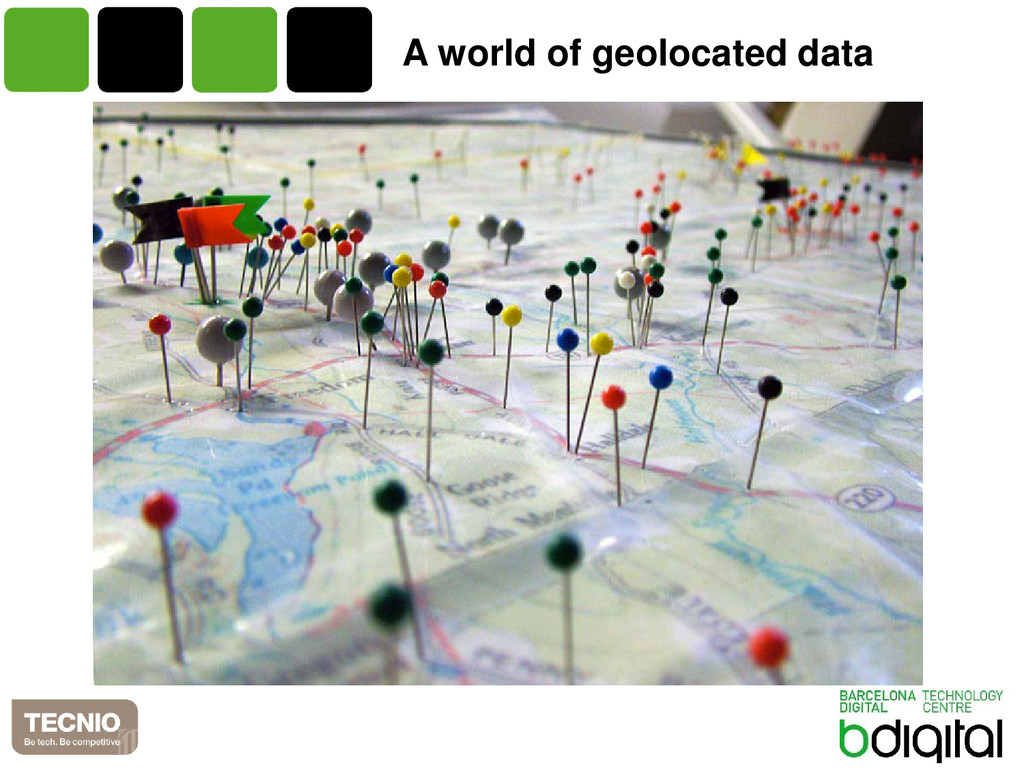 A world of geolocated data