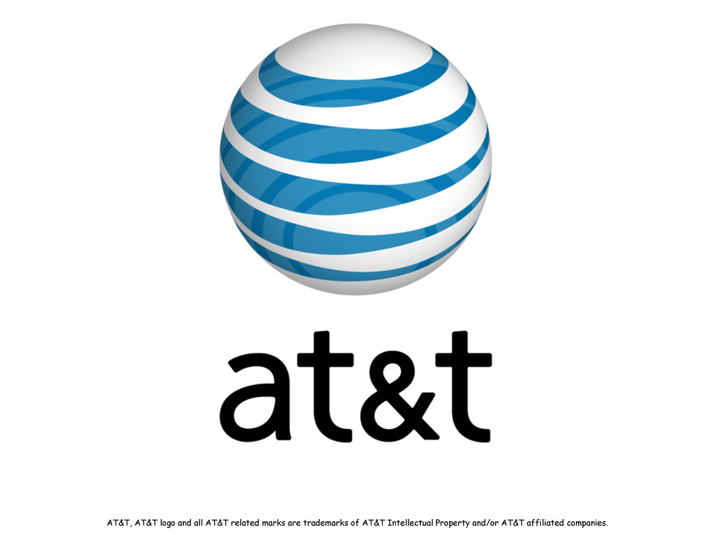 AT&T, AT&T logo and all AT&T related marks are ...